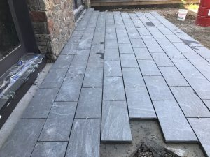 Granite Porch Tiles