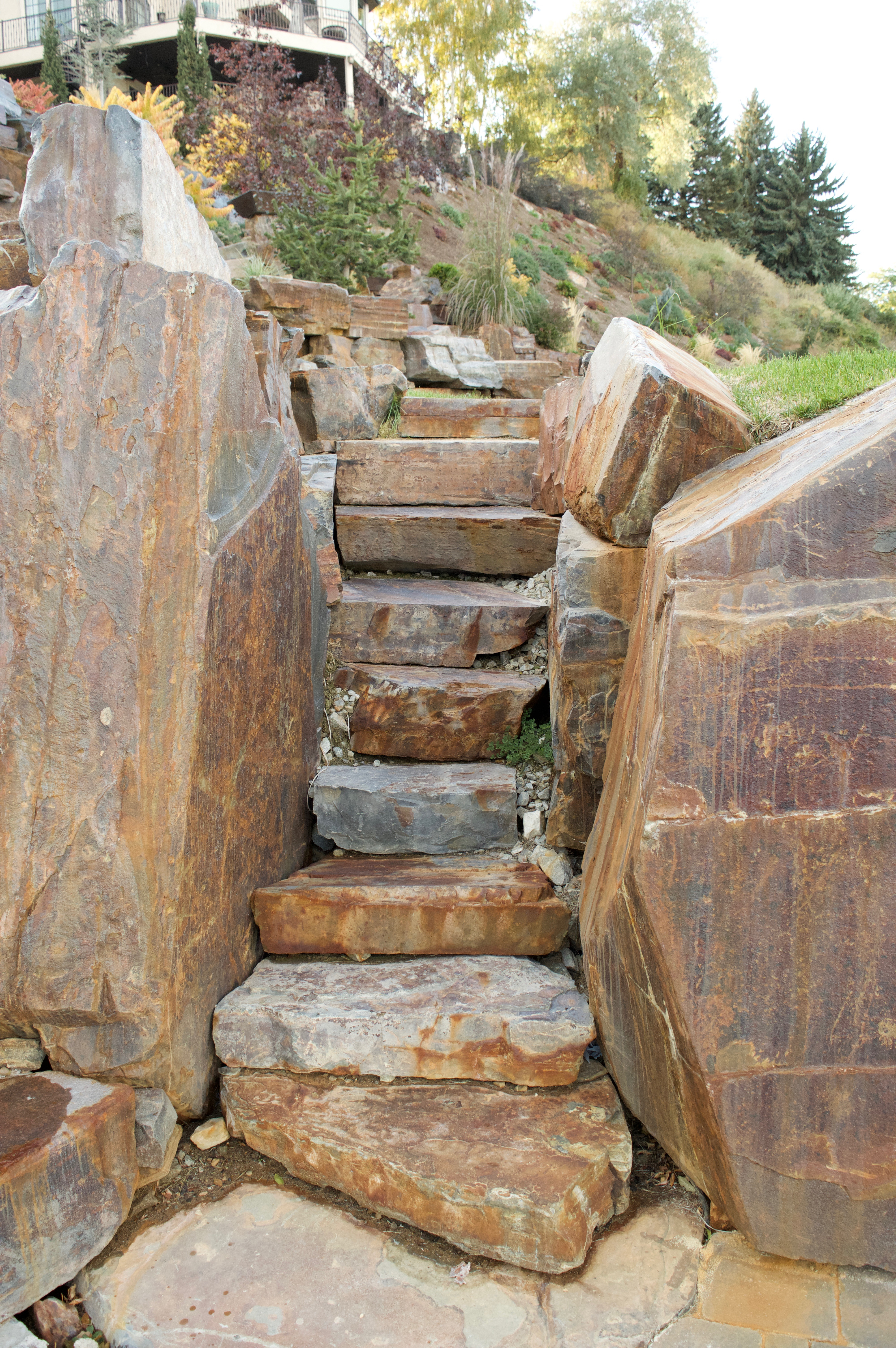 Chief Cliff Rustic Stair Slabs