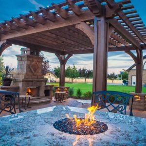 Belgard Fireplace