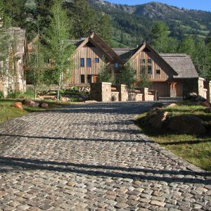 Reclaimed Granite Cobblestone