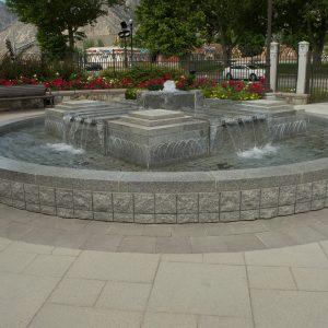 Texada Slabs and Granite Fountain